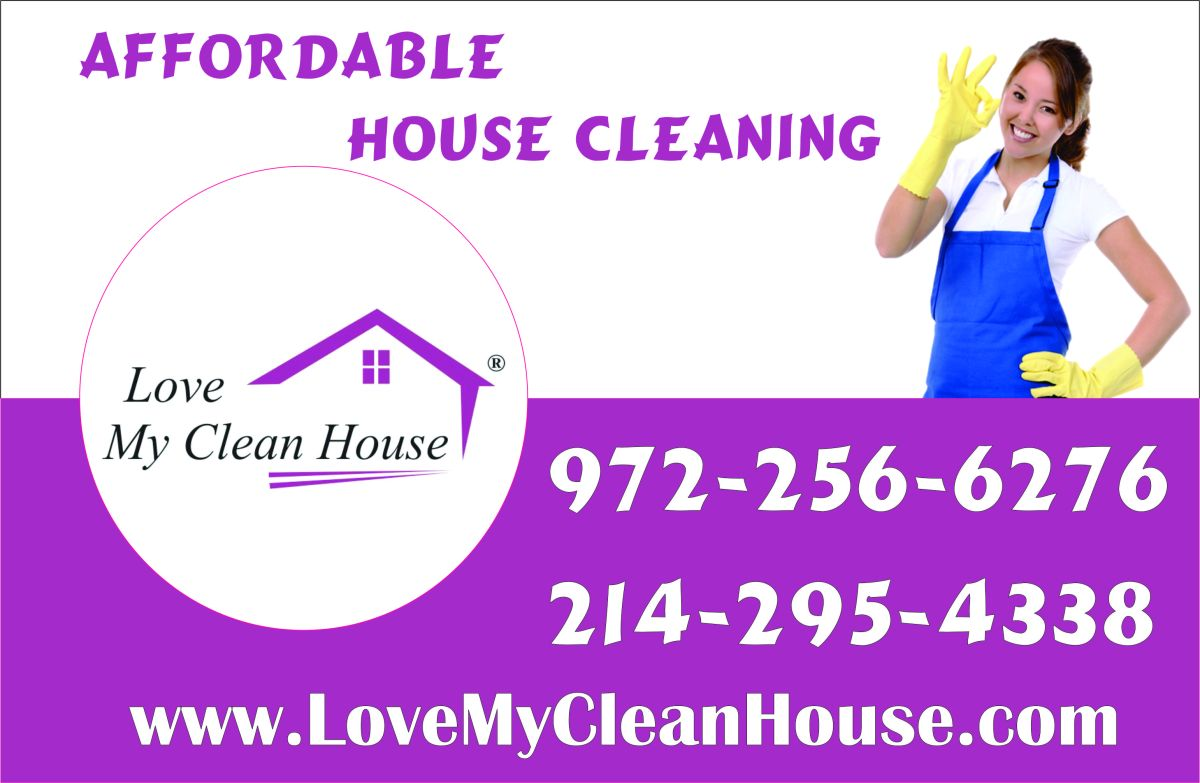 Fast House Cleaning In Mckinney Tx Www Lovemycleanhouse Com